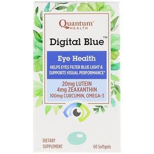 Quantum - Digital Blue - Eye Health - 60 Softgels