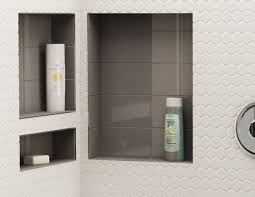 shower pans bases shelves tile redi