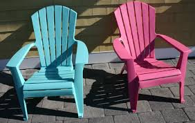 Furniture: Choose Your Favourite Color From Plastic Adirondack ...
