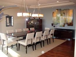 Dining Room With Art Decor