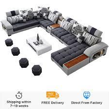 stoff sofa modernen minimalistischen größe wohnung chaise
