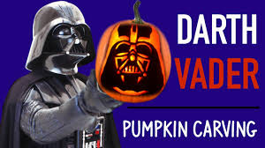 Easy Zombie Pumpkin Stencils by Pumpkin Carving Darth Vader Star Wars Pumpkin Carving Ideas Youtube