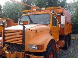 100 Plow Trucks For Sale 1991 International 4900 Spreader Truck Sturtevant