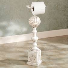 Clamshell Toilet Paper Stand
