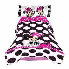 Minnie Mouse Twin Bedding by Disney Minnie Mouse Twin Comforter And Sheet Set