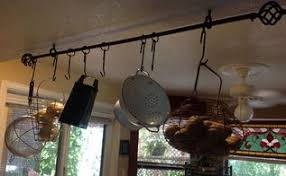 Kitchen Pot Racks in Organizing