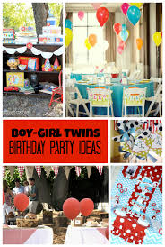 Baptism Decoration Ideas For Twins by Boy Twins Birthday Party Ideas By Double The Fun Parties