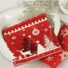 serviette de noel en papier pliage serviette papier no l pliage serviette pour noel