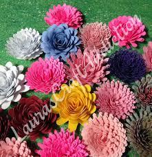 Commercial License 11 Designs Paper Flowers Svg