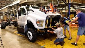 F-650 & F-750 Production Line In Ohio Comes To A Halt - Ford-Trucks.com 2017 Ford F650xlt Extended Cab 22 Feet Jerrdan Shark Bed Rollback 2012 Ford F650 To Be Only Mediumduty Truck With Gas V10 Power 1958 Medium Duty Trucks F500 F600 1 12 2 Ton Sales 1999 F450 Tpi Built Tough F350 Flatbed F750 Plugin Hybrid Work Truck Not Your Little Leaf Sonny Hoods For All Makes Models Of Heavy 3cpjf Builds New In Tucks And Trailers At Amicantruckbuyer 2018 Sd Straight Frame Pickup Fordca Unique Super Wikiwand Cars