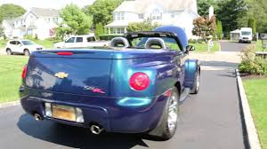 100 Ssr Truck For Sale 2005 Chevrolet SSR Pickup Low Miles RARE Aqua Blur Metallic