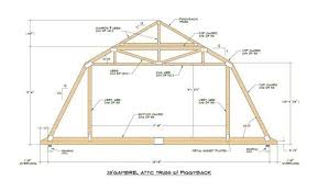 10 X 12 Gambrel Roof Barn Shed Building Plans Blueprints Do It