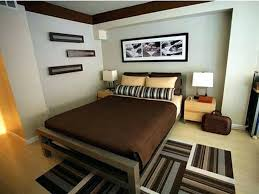 Apartment Bedroom Decor Small Decorating Ideas With Striped Rug Bolsters Sheet Lovely