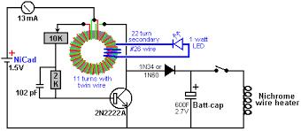 how to make free energy light bulb circuit diagram circuit and