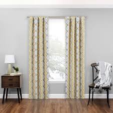 Blackout Window Curtains Walmart by Mainstays Carwyn Blackout Window Curtain Walmart Com