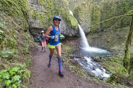 Gorge by Gorge Waterfalls 100k Rainshadow Running