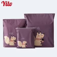 Hot Sale 3 PCS Cartoon Waterproof Zipper Bag Clothes Tidy Organizer Packing Laundry Bunched Home Travel