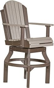 LuxCraft Adirondack Swivel Chair - Bar Height - Amish Yard 35 Free Diy Adirondack Chair Plans Ideas For Relaxing In 24 Oak Shelf Shown A Michaels Cherry Finish Qw Amish Arbella 7pc Ding Set Wooden High Childrens Fniture And Solid Wood Handcrafted Portland Oregon The High Back Rocking Chair Canterbury Leg Table St Louis Park School Theater Program Will Present Elnora Accent Luxcraft Swivel Bar Height Yard Arthur Phillippe Chairs Set2 Fabric Side 3 Leather 1 Bench Woodworking Baby Build
