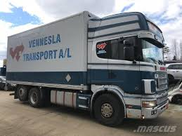 100 Truck Box For Sale Used Scania R164580 Parts Box Trucks Year 2002 For Sale