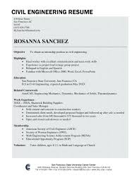 resume sle for civil engineer fresher cover letter civil