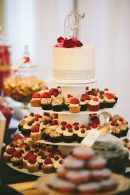 Wedding Cupcakes Portland Or Fruit Elegant Cupcake Display Dessert Table