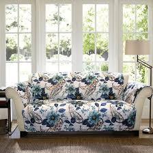 blue floral paisley furniture protectors sofa slipcover target