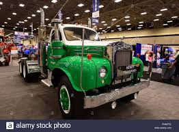 A Classic Green And White B53 MACK Truck Is Displayed At The 2018 ... A Dark Peterbilt Cabover Semi Truck Is Displayed At The 2018 Great Photos Day 2 Of Pride Polish Trucks American Success 2015 Trucking Show Landstar The Truck Recap Raneys Blog Gats 2013 In Dallas Tx By Picture Allies Booth Allie Knight Youtube Photo Gallery Great American Truck Show 2016 Dallas Bangshiftcom Big Rigs And More From