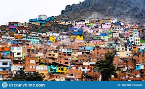 100 Houses For Sale In Lima Peru Slum Buildings Stock Photo Image Of