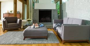 Karlstad Sofa Legs Etsy by Gray Sofa 3 Seater With Solid Wood Legs Article Ceni Modern
