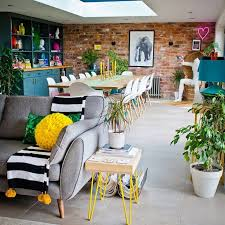 house tour a fabulously colourful family home