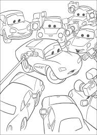 Cars Coloring Pages Kids Printables