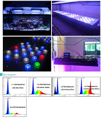 led aquarium light controller dimmable 150w led aquarium light for coral reef with smart wifi