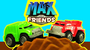 MAX MINI HAULERS TRUCK & FRIENDS FIRE TRUCK FRANK & GARBAGE TRUCK ...