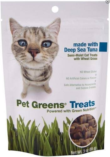 Pet Greens Semi-Moist Cat Treats - 85g