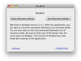 RecBoot Easy Way to Put iPhone into Recovery Mode