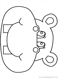 Hippo3 Coloring Page