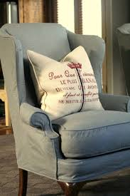 Grey Wingback Chair Slipcovers by The 25 Best Wingback Chair Covers Ideas On Pinterest Wingback