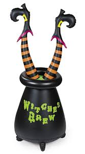 Halloween Witch Yard Stakes by More Witch Coven Halloween Party Ideas