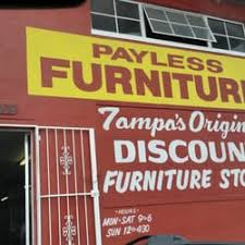 Payless Furniture Furniture Stores 4009 W Hillsborough Ave