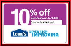 lowes 10 printable coupons