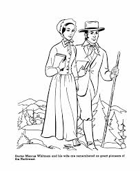 The America Expansion Coloring Pages 19th Century American History