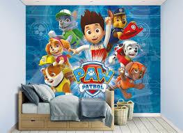 Paw Patrol Bedroom Wallpaper Mural 8ft x 10ft Walltastic