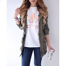 Cute Casual Outfit With Adidas Top