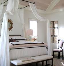 White Four Poster Canopy Bed Designing Home 17 Best Ideas About Drapes On Pinterest