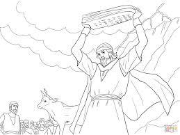 Ten Commandments Coloring Pages At