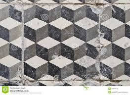 Unique Vintage Tile And Floor Tiles Stock Photography
