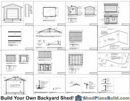 12x16 Wood Storage Shed Plans by 12x16 Garage Storage Shed Plans