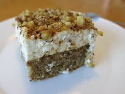 mandel walnuss kuchen mit äpfeln und schmandbelag ivi
