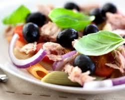recette salade de pâtes au thon et oignon
