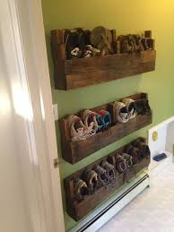 Pallet Shoe Racks Wood Coat Rack Things To Make Out Of Pallets Diy Ideas Use Organize